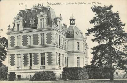 ". CPA  FRANCE 41 "" Orchaise, Château du Guérinet"""