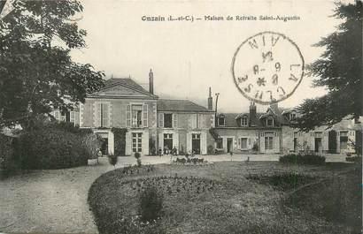 """. CPA  FRANCE 41 """" Onzain, Maison de retraite St Augustin"""""""