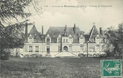 """. CPA  FRANCE 41 """" Bracieux, Château de Villesavain"""""""
