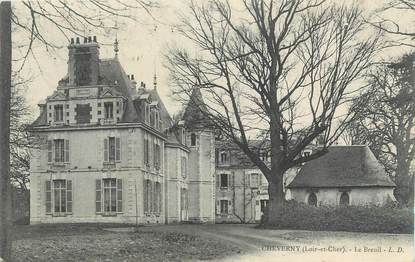 """. CPA  FRANCE 41 """" Cheverny, Le Breuil"""""""