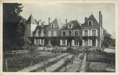 """. CPSM  FRANCE 41 """" Dhuizon, Château de la Hardennière"""""""