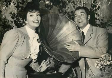 """PHOTO ORIGINALE /  THEME CINEMA  """"Micheline DAX et Jean POIRET dans une scène du film la Belle Epoque"""""""