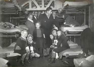 """PHOTO ORIGINALE /  THEME """"650 enfants français partis pour la Suède, 1945"""""""