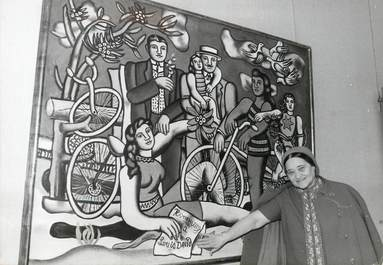 "PHOTO ORIGINALE /  THEME ART ""Exposition Fernand Léger, 1971"""