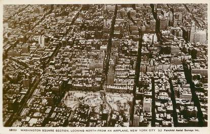 "CPA USA ""New York city, Washington square section"""