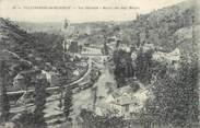 """12 Aveyron . CPA FRANCE 12 """"Villefranche de Rouergue, Vue Générale, Moulin des Sept Meules"""""""