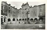 """12 Aveyron . CPSM FRANCE 12 """"Villefranche de Rouergue, Place Notre Dame  """""""