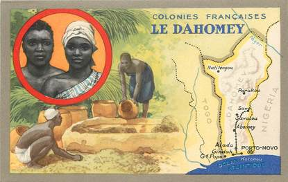 CPA DAHOMEY / Colonies françaises