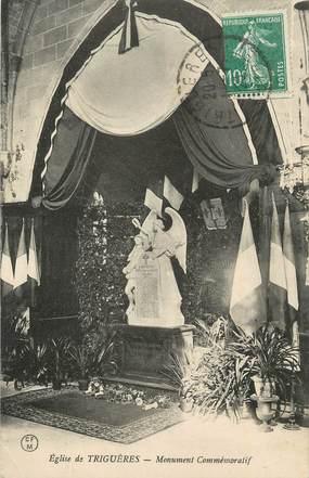 """. CPA   FRANCE 45 """"Triguères, Monument commémoratif"""""""