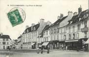 """77 Seine Et Marne . CPA FRANCE  77 """"Coulommiers, La plaace du marché"""""""