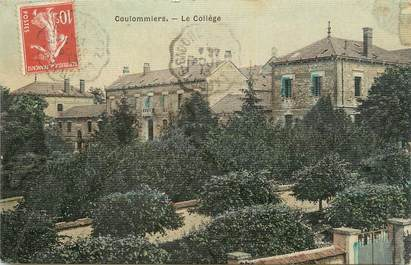 """. CPA FRANCE  77 """"Coulommiers,  Le collège"""""""