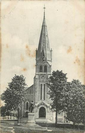 """. CPA FRANCE  77 """" Coulommiers, Eglise St Denis - Ste Foy"""""""