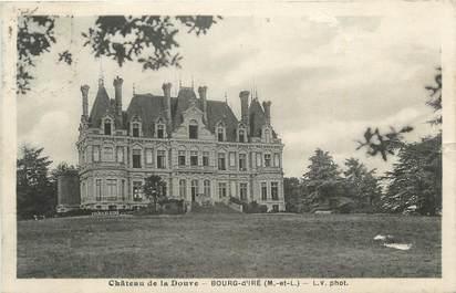""". CPA  FRANCE  49  """"Bourg d'Iré, Châtea de la Douve"""""""