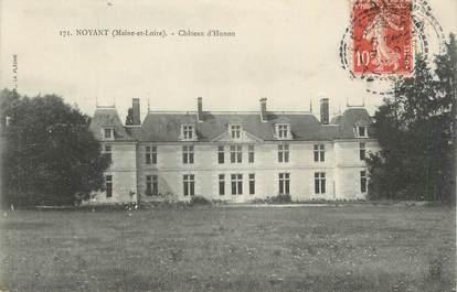 """. CPA  FRANCE  49  """" Noyant, Château d'Husson"""