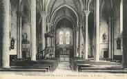 """49 Maine Et Loire . CPA  FRANCE  49  """"St Georges sur Layon, L'intérieur de l'église"""""""