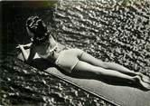 """La Femme CPSM PIN UP """"Sur le plongeoir"""""""