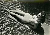 """La Femme CPSM PIN UP """"Sur le plongeoir """""""