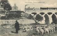 """13 Bouch Du Rhone .CPA FRANCE 13 """"St Chamas, Viaduc et chapelle St Léger """""""