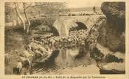 """13 Bouch Du Rhone .CPA FRANCE 13 """"St Chamas, Pont de la Roquette sur la Touloubre"""""""