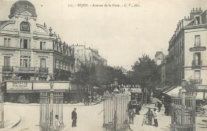 ".CPA  FRANCE 21 ""  Dijon, Avenue de la gare """