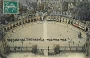 """21 Cote D'or . CPSM  FRANCE  21 """"  Dijon, La Place, vue prise du haut de la Tour du Bar"""""""