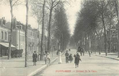 """. CPA  FRANCE  45 """"  Montargis, Avenue de la Gare"""""""