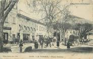 "06 Alpe Maritime .CPA  FRANCE 06 ""La Turbie,  Place Detras"""