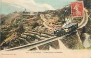 """06 Alpe Maritime .CPA  FRANCE 06 """"La Turbie, Chemin de fer à crémaillère"""""""