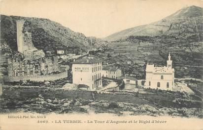 """.CPA  FRANCE 06 """"La Turbie, La Tour d'Auguste et le Righi d'Hiver"""""""