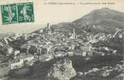 """06 Alpe Maritime .CPA  FRANCE 06 """" La Turbie, Vue générale prise du Mont Bataille"""""""