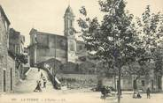 "06 Alpe Maritime .CPA  FRANCE 06 "" La Turbie, L'église"""