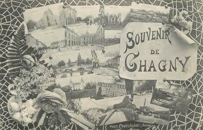 """.CPA  FRANCE 71 """"Chagny,  Vues"""""""
