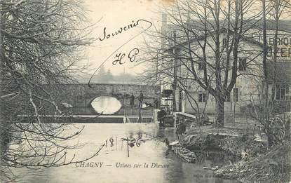 """.CPA  FRANCE 71 """"Chagny, Usine sur la Dheune"""""""