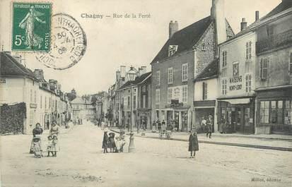 ".CPA  FRANCE 71 ""Chagny,  Rue de la Ferté"""
