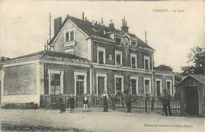 """.CPA  FRANCE 71 """"Chagny,  La gare"""""""