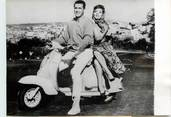 "Theme PHOTO ORIGINALE / THEME ""1960, Gina Lollobrigida en scooter"""