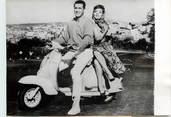 "Theme PHOTO ORIGINALE / THEME ""1960, Gina Lollobrigida en scooter"""