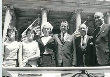 "PHOTO ORIGINALE / THEME ""mai 1963, Gorden COOPER, astronaute"""