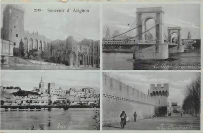 """.CPA  FRANCE 84 """"  Avignon,  Souvenir d'Avignon  """""""
