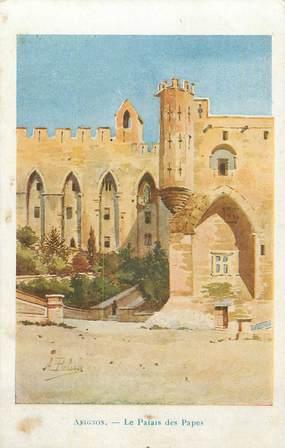 """.CPA  FRANCE 84 """"  Avignon, Le Palais des Papes"""""""