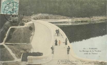 """.CPA   FRANCE 69 """" Tarare, Le barrage de la Turdine  """""""