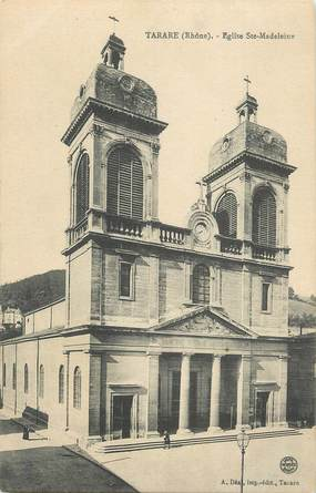 ".CPA   FRANCE 69 "" Tarare, Eglise Ste Madeleine"""