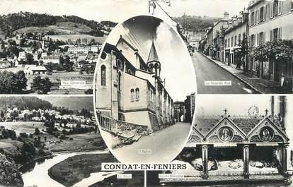 """. CPSM   FRANCE 15 """"  Condat en Feniers,  Vues"""""""