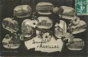 """15 Cantal . CPA FRANCE 15 """"Aurillac, Souvenir d'Aurillac"""""""