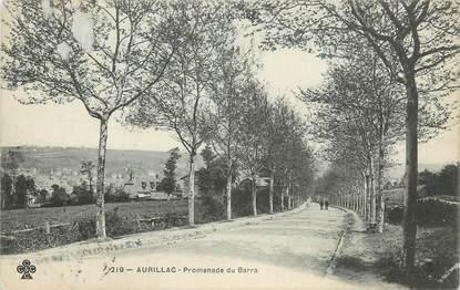 ". CPA FRANCE 15 ""Aurillac, Promenade du Barra"""