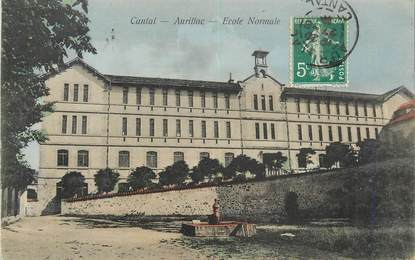 """. CPA FRANCE 15 """"Aurillac, Ecole Normale"""""""