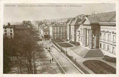 """. CPSM  FRANCE 15 """"Aurillac, Palais de Justice"""""""