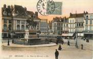 """45 Loiret . CPA FRANCE 45 """"Orléans, La place du Martroi  """""""