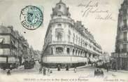 """45 Loiret . CPA FRANCE 45 """"Orléans, Perspective des Rues Bannier et de la République"""""""