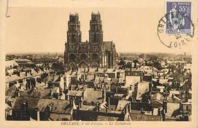 """. CPA FRANCE 45 """"Orléans, La cathédrale"""""""